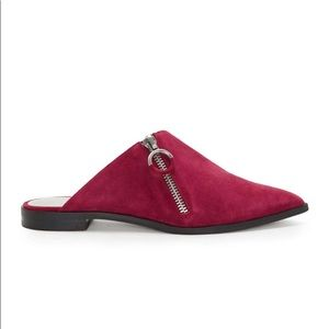 1. State Suede Pointed Toe Mules